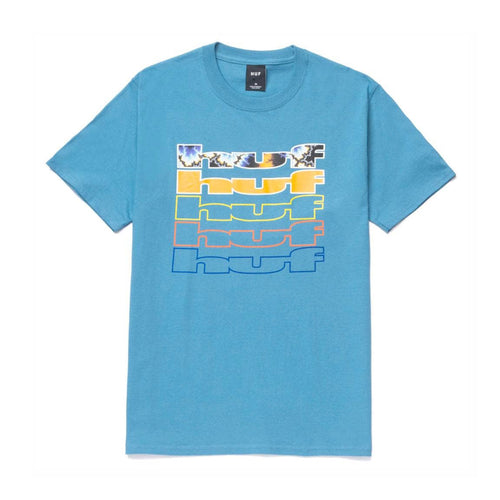 Fractal S/S Tee - Colonial Blue