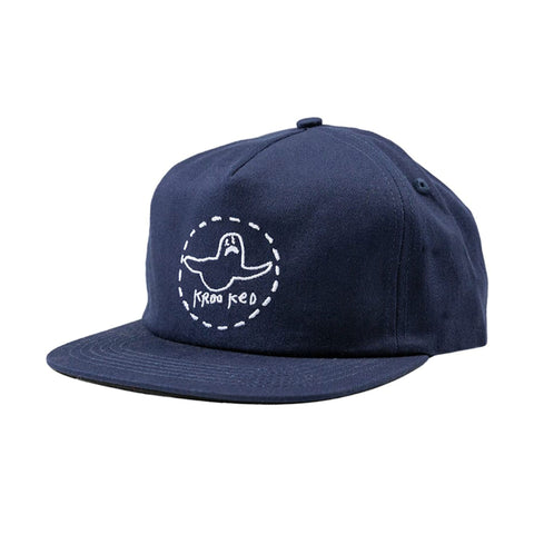 Trinity Adjustable Cap - Navy/White
