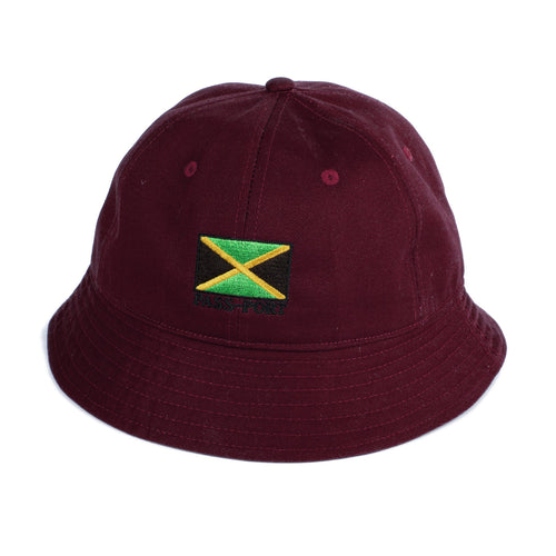 Jamaica Bucket Hat - Burgundy