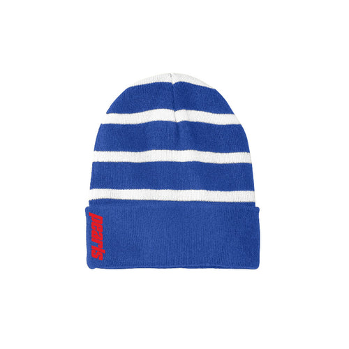 OG Embroidery Beanie - Royal/White