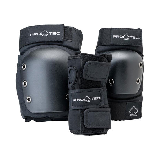 Protec Street Gear - Junior 3 Pack Pads - Open Back