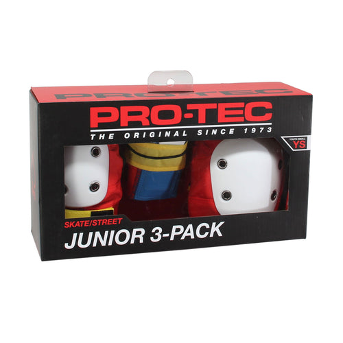 Protec Street Gear - Junior 3 Pack Pads - Retro