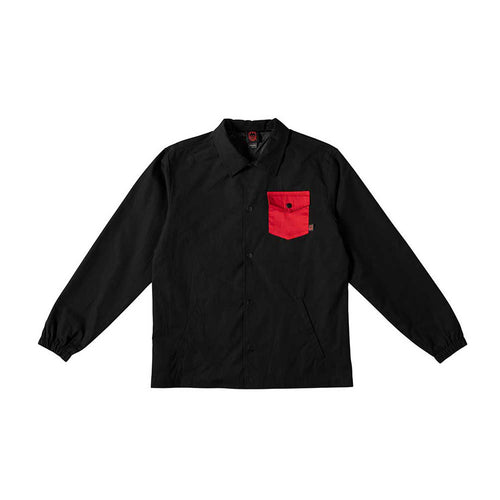 Potrero Jacket - Black/Red