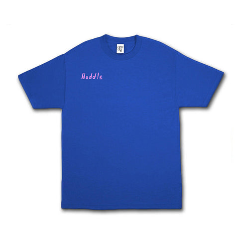 School Holidays Tee - Royal Blue/Pink