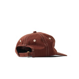 Stitch Strapback Cap - Brown