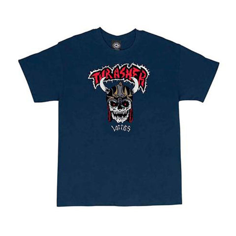 Lotties SS Tee - Navy