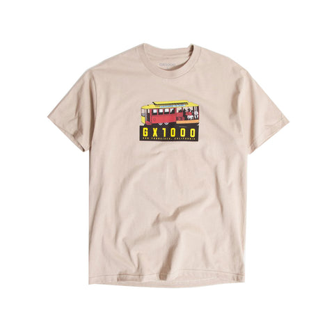 Trolly Tee - Old Gold