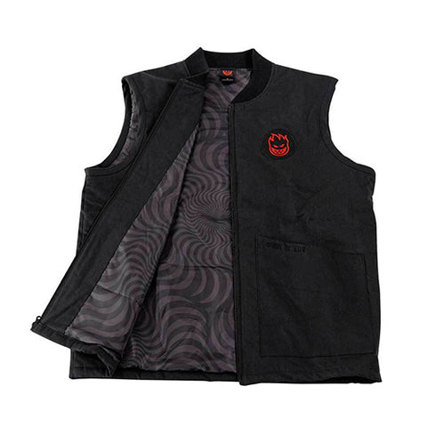 LTB Patch Vest - Black/Red