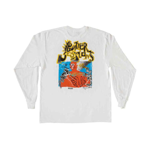 Vitamin D3 Long Sleeve - White