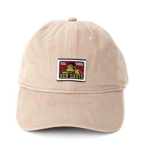 Ben Davis Cotton Twill Baseball Cap - Khaki