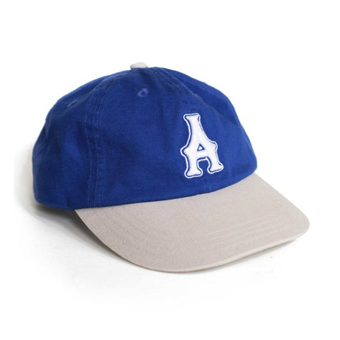 Two-Tone Cap - Royal/Tan