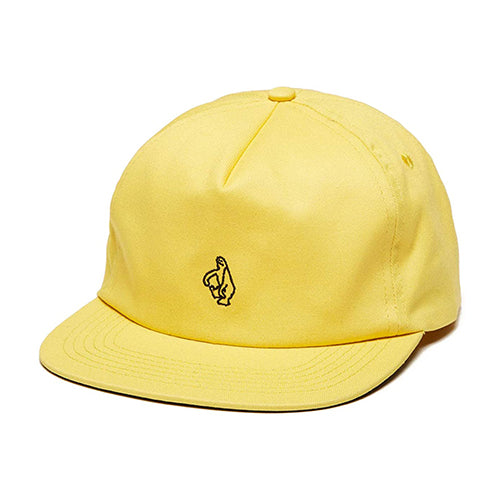 Shmoo Adjustable Snapback Cap - Yellow