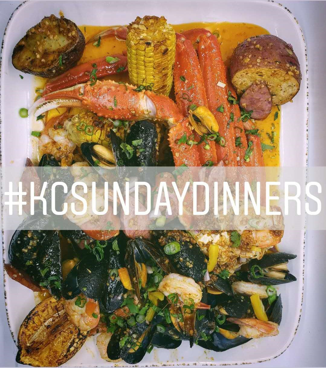 Sunday Dinner 5.10 - Dear Mama...I'm on a Boat! Seafood Boil 5p - 7p