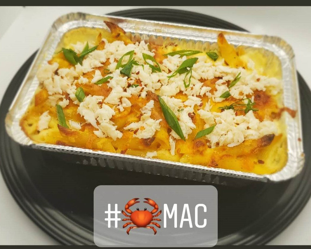 Sunday Dinner 5.10 - Side Baked Crab Mac + Cheese