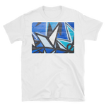 Breaking in Blue Unisex T-Shirt