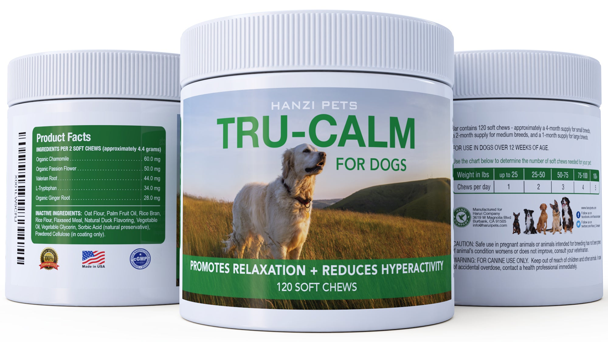 TRU-CALM NATURAL ANXIETY RELIEF – Hanzi Pets