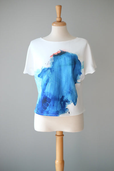 SPLASH sleeve top