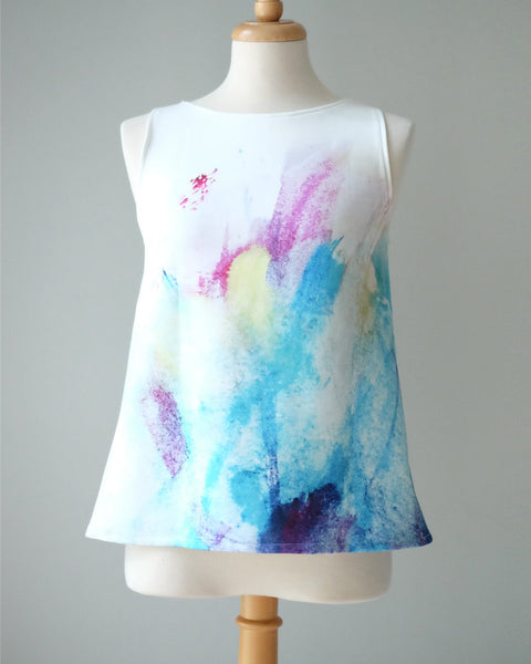 OCEAN sleeveless top