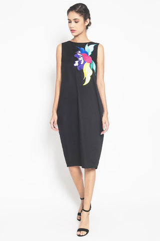 SONGBIRDS Black Tulip Dress