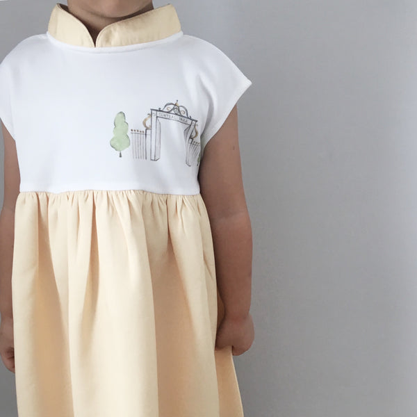 [Ans.ein X Marronnier] Hathaway MiniMe Dress in Yellow