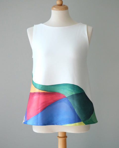 COLOURS sleeveless top
