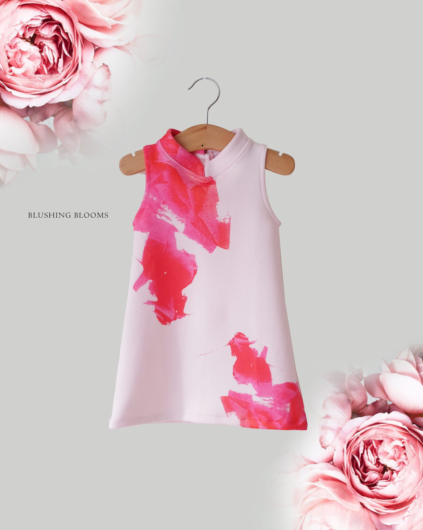 BLUSHING BLOOMS MiniMe Dress