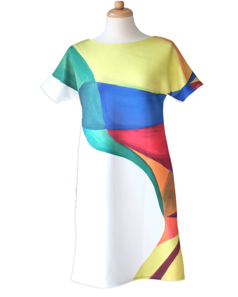 COLOURS Sleeve Dress