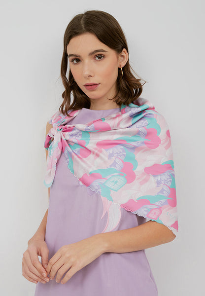 SONGBIRDS Pastel Scarf