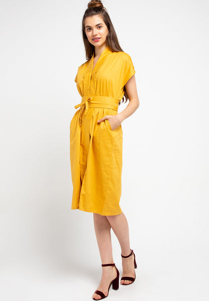 Basic Nyonya Dress Mustard