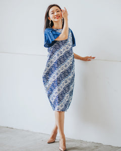 ASH Sleeve Tulip Dress BATIK