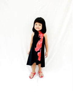Black Blooms MiniMe Flying Dress