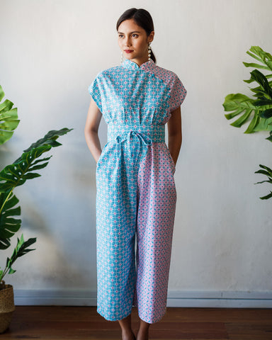 CANDY TILES Silhouette Jumpsuit