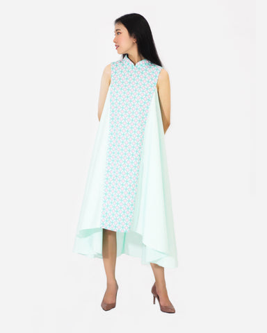 Candy Tiles Mint Flying Dress