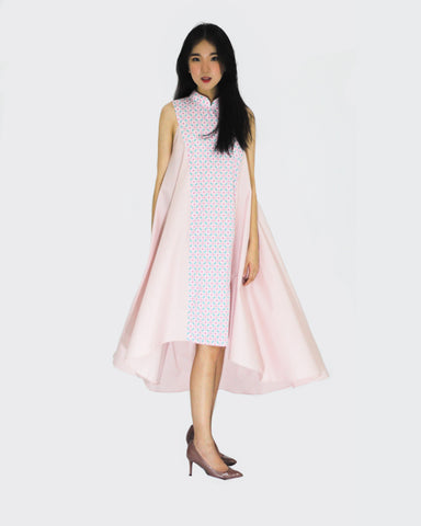 Candy Tiles Pink Flying Dress