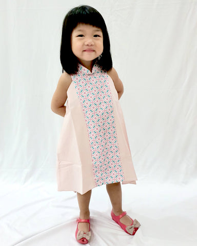 Candy Tiles Pink MiniMe Flying Dress