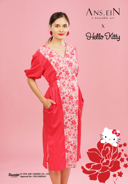 HELLO KITTY PEONY Ciel Dress
