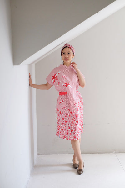 [SINGAPORE STORY] Dancing Kites Kimono Dress
