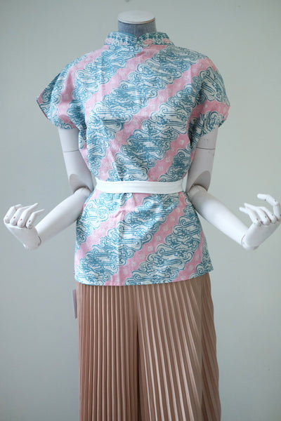BATIK PARANG PINK GREEN Multiway Top