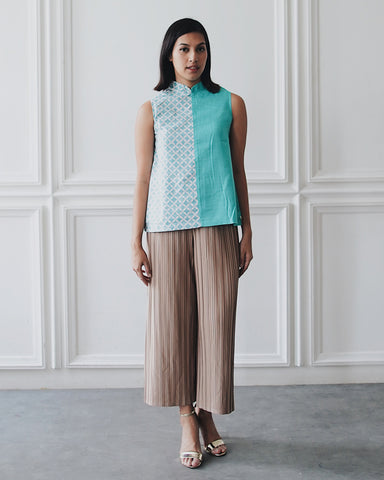 KAWUNG X MINT Asymmetrical Top BATIK #sl