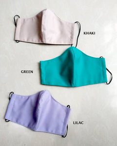 BASIC COLOUR Reusable Mask (PRE-ORDER)