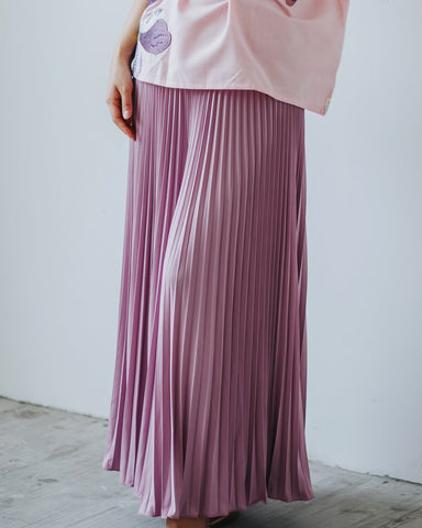 Basic Pleated Culottes Maxi