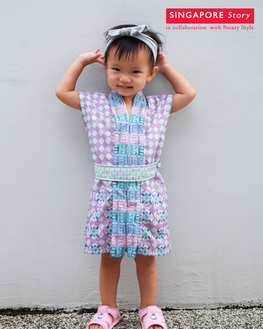 [SINGAPORE STORY] PERANAKAN MiniMe Dress