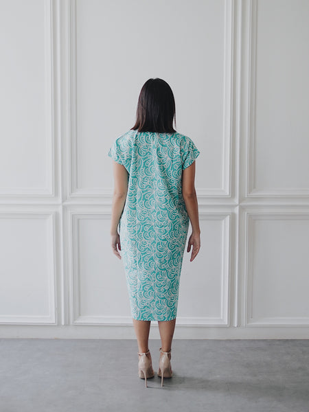 PORCELAIN Mint Nyonya Dress