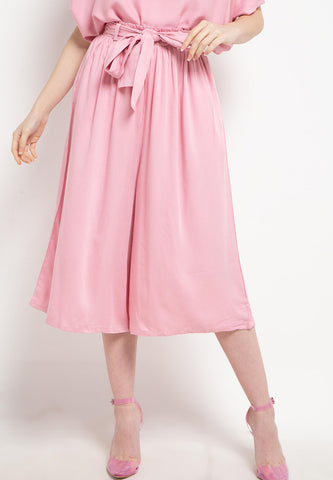 Relax Midi Pants Pink