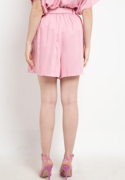 Relax Shorts Pants Pink