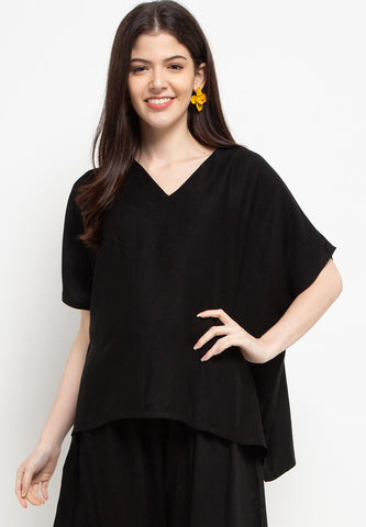 Relax Top Black