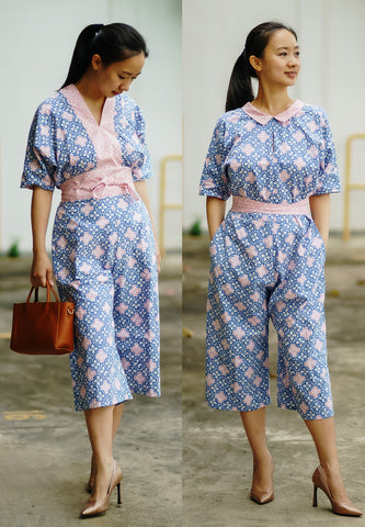 SEASONS Batik Reversible Jumpsuit