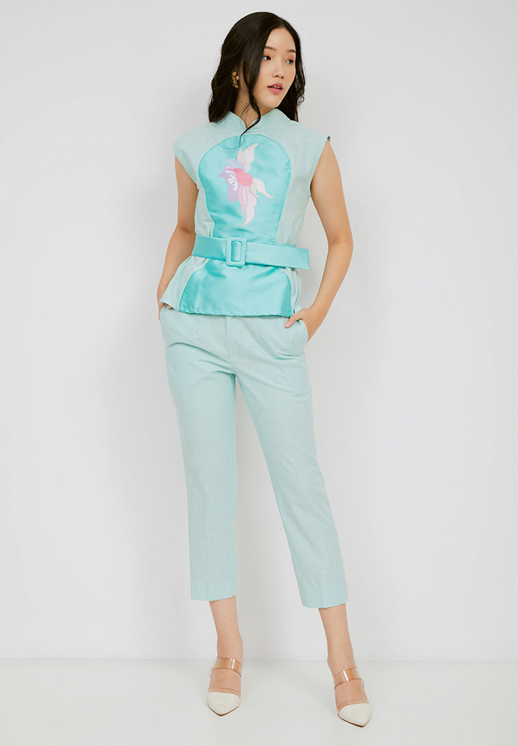 SONGBIRDS Illusion Top Mint