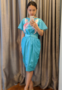 SONGBIRDS Sleeve Tulip Dress Mint *bf