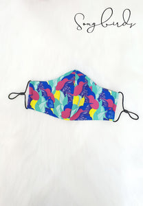 SONGBIRDS NEON Reusable Mask